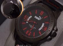 ساعةpuma معدن حزام جلد انيقة