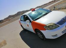 كورلا 1.8 تاكسي للبيع موديل 2003