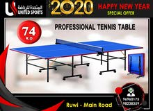 professional tennis table
