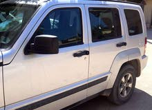 Automatic Silver Jeep 2010 for sale