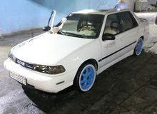 White Hyundai Excel 1992 for sale