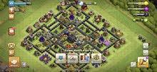 حساب clash of clans  للبيع