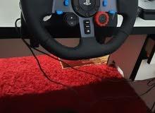 لوجيتكG29من أفضل انواع القيادة الواقعةps4ومكفول 3 أشهر.بسعر حرق 175د