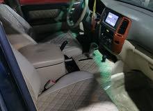 للبيع لاندكوروزر GXR موديل 2003 فل اتومتيك فل كامل فتحة سقف +ثلاجه ماشي /256 km