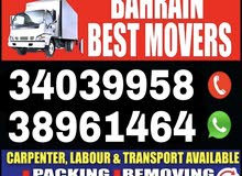 HOUSE VILLA FLAT PACKER MOVERS ALL BAHRAIN CARPANTER AND LAVOUR AVAILABLE ALL