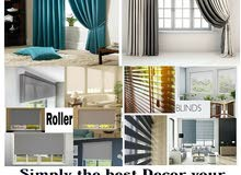 Making & Selling Curtain blinds roller service