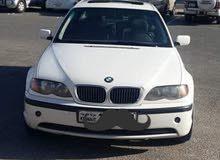 (بيعة سريعة ) سيارة BMW 320  موديل 2003 بحاله جيده جدا