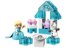 LEGO  Elsa and Olaf's Tea Party             مع خدمة التوصيل