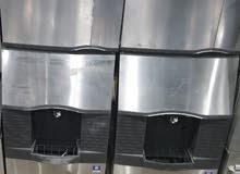 ثلاجة ثلج مكعبات سعة 200 كيلو خدوش بسيطة غير مستخدمة