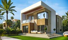 Stand alone villa for sale new cairo sarai compound