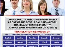 DUNIA LEGAL TRANSLATION BUR DUBAI