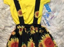 لبسة بناتي وارد تركيا تلبس من عمر 4سنه الي 8سنة
