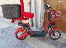 دراجة شحن كهرباء بحالة ممتازة  القويسمة