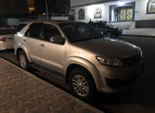 Silver Toyota Fortuner 2013 for sale