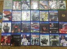 العاب Xbox one و ps4 للبيع فقط بدون مراوس