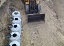 تعدات حفريات  استصلاح أراضي