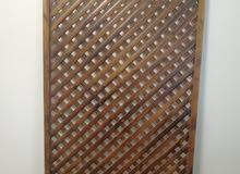 ألواح خشبيه 12 لوح طول 106 عرض 206 سعر الوح الواحد 20 دينار استعمال 5 أشهر