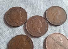 نقود قديمة الملكة اليزابيث 2