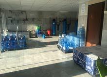 محطة مياه للبيع في تلاع العلي مع باص بينجو للتوزيع