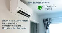 ac service clean,repairs,reful gas