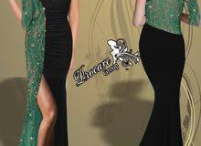 فساتين مخمل من سوريا دمشق من شركة بروكار للألبسة النسائية واللانجري