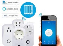 Smart Home SONOFF S20 10A 2200W Wifi Remote Control Socket Plug UK Smarthone APP