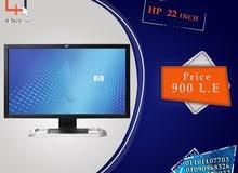 شاشة 24 بوصة فرز اول استيردا الخارج بسعر ممتاز علي الشاشة ضمان 6 شهور بالفاتورة
