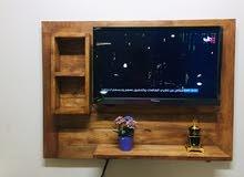 ديكور تلفاز خشبي