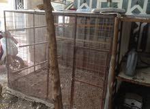 قفص حديد يصلح لجميع الحيوانات للبيع