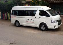 Toyota Hiace for rent in Cairo