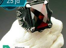 خاتم تركي فخم فضة 925
