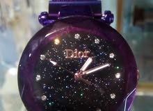 ساعة Dior حريمى استيك وقفل مغناطيس