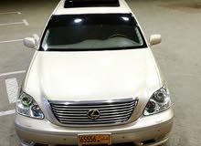 Lexus LS 2004 For sale - Gold color