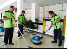 تنظيف الفلل الشقق الملاحق ال جديدة والقديمه