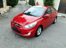 Maroon Hyundai Accent 2015 for sale