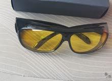 نظارات ليلية جديدة للقيادة الليلية وتخفيف من ازعاج الانارات وكذلك انوار السيارات