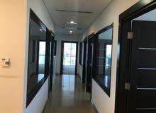 للايجار مكتب بالعاصمة 265 م for rent office  in kuwait city