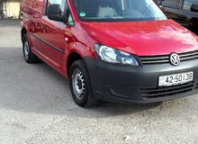 Volkswagen Caddy 2014 For sale - Maroon color