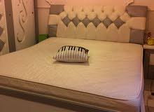 سرير نفرين ماليزي مع مرتبة للبيع