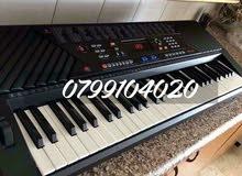 بيانو اورج جديد بالكرتونه مسكر فخم اصلي 290 لحن مع اياقاعات وعيارات كامله 61 مفتاح 6 اوكتاف ومكفول