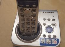 هاتف باناسونيك ارضي و لاسلكي للبيع