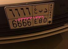لوحة سيارة مميزة رقم 1 وغيرها ملك و قصر