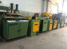 معدات يو بي في سي Upvc machinery
