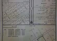 ارض سكني الحايمه مربع 7