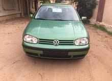Volkswagen Golf 2001 For sale - Green color
