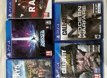 5 PlayStation 4 games new