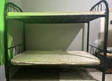 Double deck with mattress