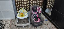 Car seat & baby Walker