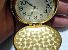 poket vintage golden watch