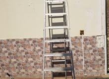 سلم عشر درجات 3 متر .  lader a type 10 steps